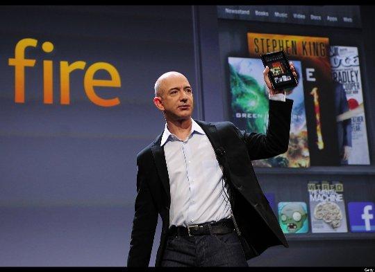 Giá thành của máy tính bảng Kindle Fire là 210 USD