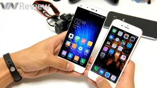 So nhanh cảm biến vân tay trên Xiaomi Mi 5 và iPhone 6s