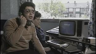Đây là cách người ta gửi email vào năm 1984