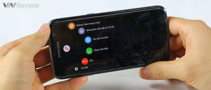 Dùng thử Game Launcher trên Galaxy S7: quay màn hình, giảm bấm nhầm nút