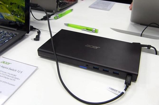Acer Graphics Dock: giúp bổ sung đồ họa Nvidia cho máy tính bảng qua USB