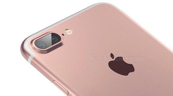 Lộ rõ ảnh iPhone 7 Plus với camera kép