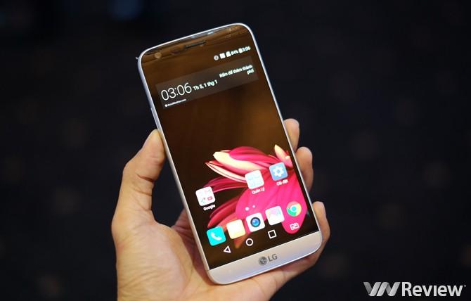 """LG G5 bán ra từ tháng 4, sẽ có """"giá sốc"""" tại Việt Nam"""