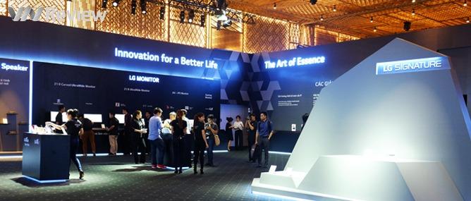 Điểm qua những 'đồ chơi công nghệ' tại LG Tech Show 2016