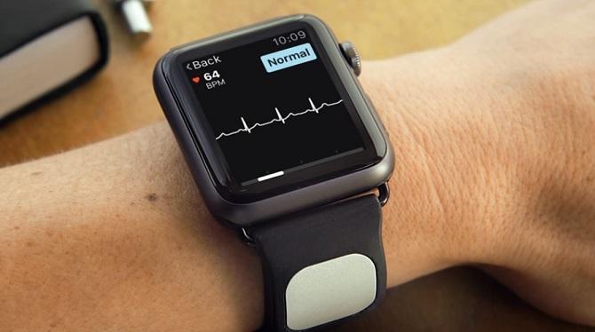 Phụ kiện giúp Apple Watch dự đoán chứng đột quỵ