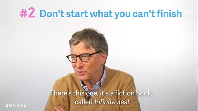 Bill Gates đọc sách như thế nào?