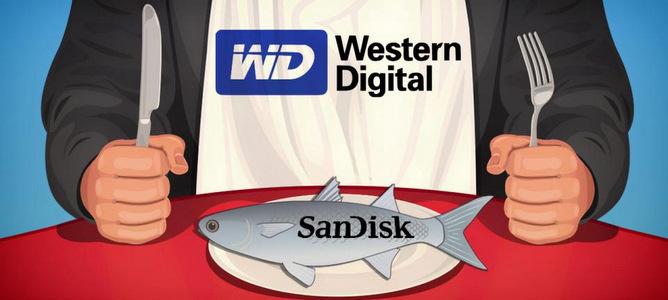 Western Digital mua lại SanDisk với giá 19 tỷ USD