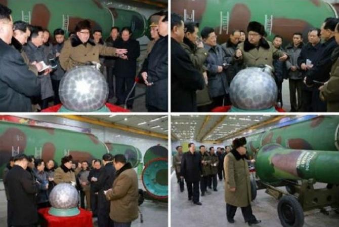 Triều Tiên cho biết đã thu nhỏ được đầu đạn hạt nhân để gắn lên tên lửa