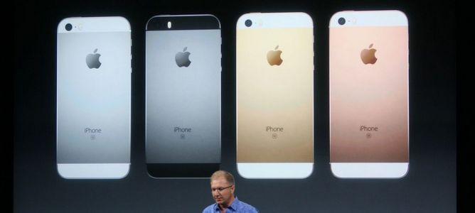 Cận cảnh iPhone SE chính thức: thiết kế iPhone 5, cấu hình iPhone 6s