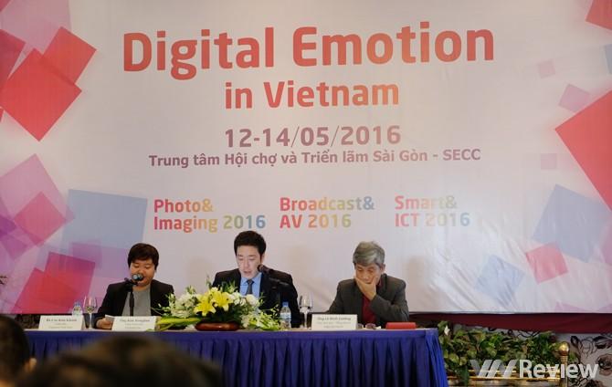 Triển lãm nghe nhìn Digital Emotion in Vietnam sẽ diễn ra từ 12-14/5