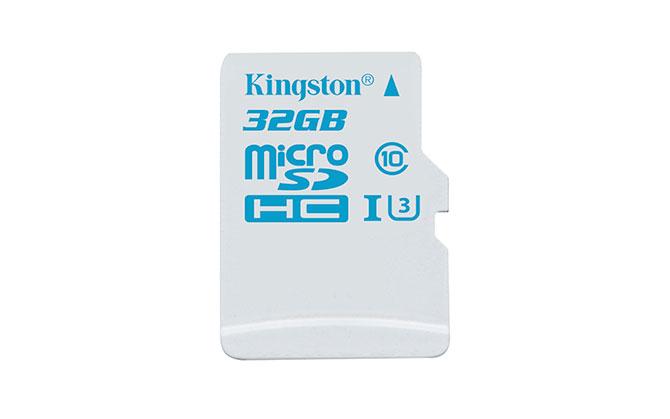 Kingston ra mắt thẻ microSD mới cho camera hành trình