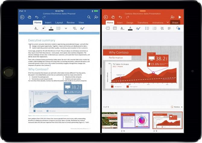 Office 365 trở thành một... phụ kiện của iPad Pro