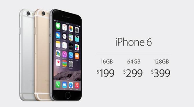 Apple kiếm thêm được bào nhiêu tiền khi bạn mua iPhone 64 GB thay vì 16 GB?