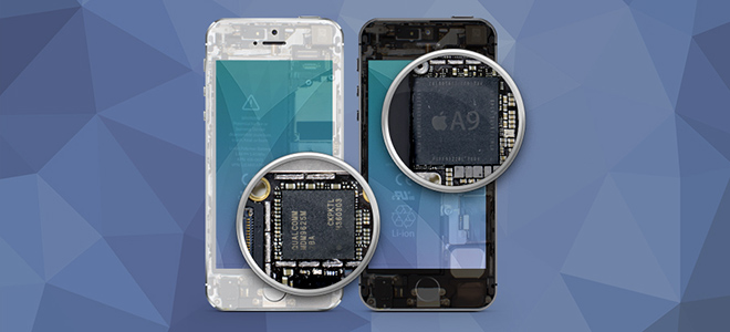 """""""Mổ"""" iPhone SE xem nội thất có giống iPhone 6S"""