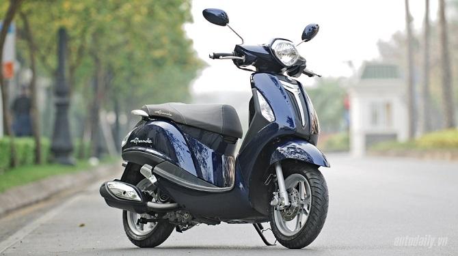 Hơn 95.000 xe Yamaha Nozza Grande bị triệu hồi