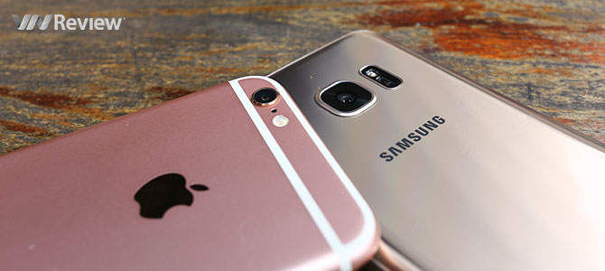 Đọ chi tiết Galaxy S7 và iPhone 6s: 7 liệu có hơn 6?