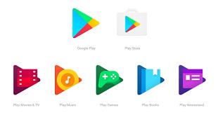 Google Play có logo mới: phẳng và tròn hơn
