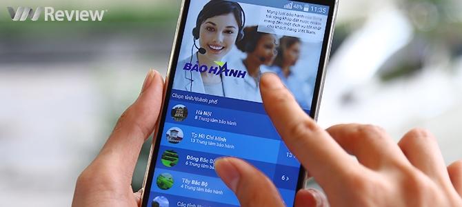 Kết quả hình ảnh cho cskh qua app mobile