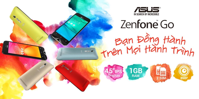 Asus ZenFone Go có phiên bản mới, nhiều màu sắc trẻ trung