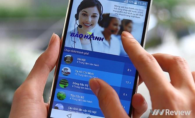 Chăm sóc khách hàng smartphone