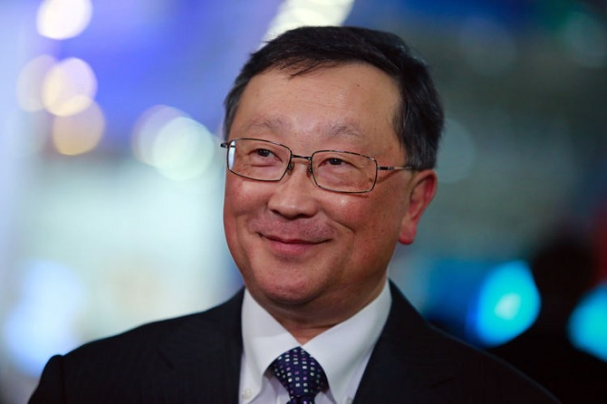 John Chen: BlackBerry đang có kế hoạch cho 2 chiếc smartphone Android mới