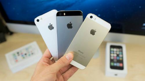 Nhiều nơi xả hàng iPhone 5s