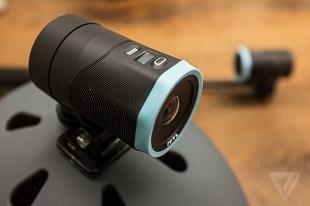 Camera hành động đầu tiên tích hợp chống rung 3 trục