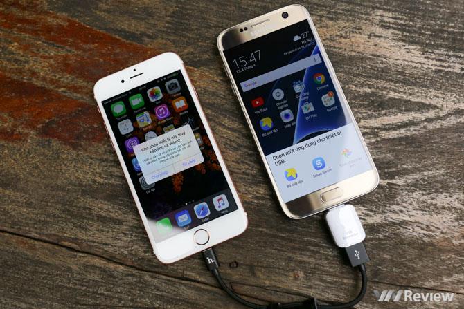 7 ấn tượng với bộ đôi Galaxy S7/S7 Edge