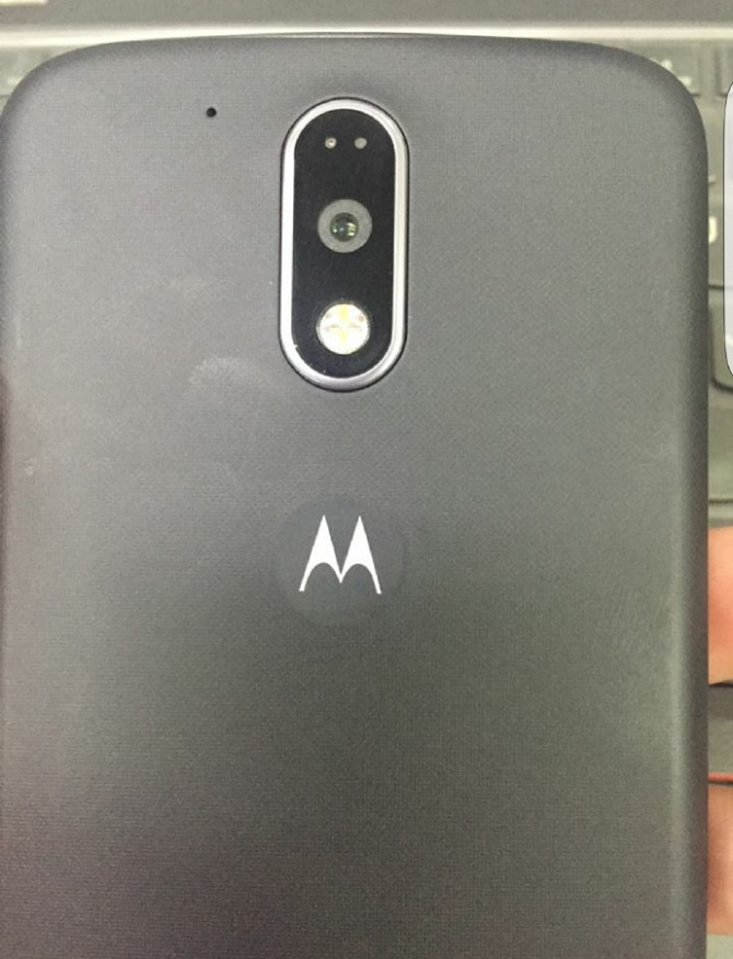 Lộ diện hình ảnh đầu tiên của Moto G4, có máy quét vân tay
