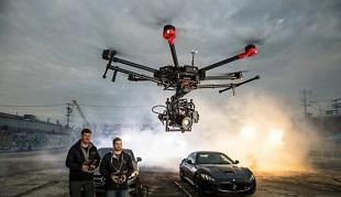 Siêu drone chuyên dụng cho quay phim giá hơn trăm triệu đồng