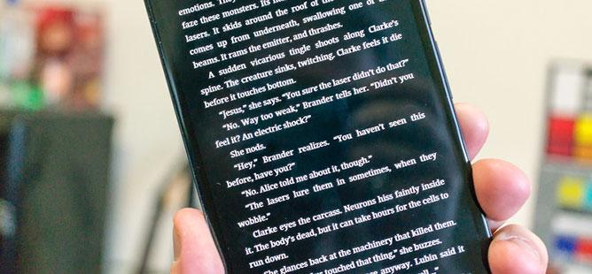 Smartphone đã làm thay đổi văn hóa đọc?