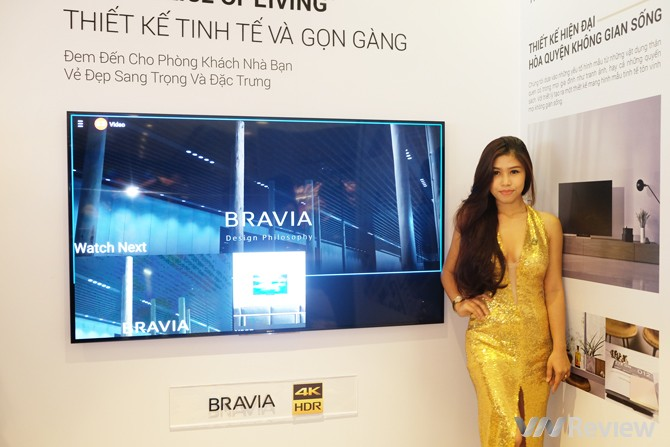 Sony Việt Nam ra loạt TV 4K HDR và loa Sound Bar mới