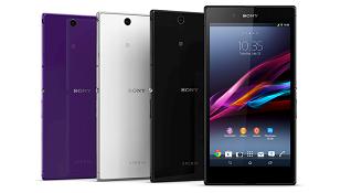 Sony Xperia M Ultra có màn hình 6 inch, camera trước 16MP?
