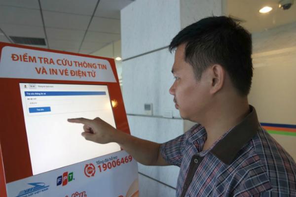 hệ thống vé tàu điện tử FPT