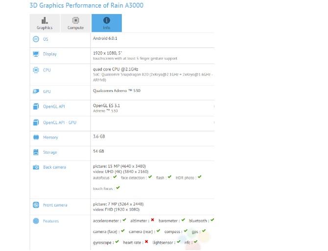 OnePlus 3 lộ cấu hình với RAM 6 GB