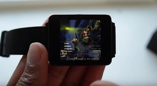Game Counter Strike lừng danh đã có mặt trên Android Wear
