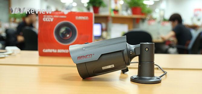 Trải nghiệm camera an ninh dành cho doanh nghiệp Ben T3-IP2.0