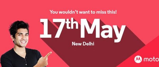 Motorola Moto G4 và Motorola Moto G4 Plus sẽ được công bố vào sự kiện ngày 17 tháng 5?