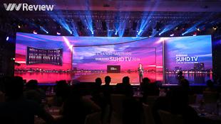 Samsung ra mắt dòng TV SHUD 2016 tại Việt Nam