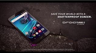 iPhone 6s, Galaxy S7 làm nền trong quảng cáo Droid Turbo 2
