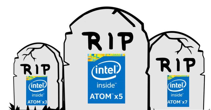 Intel khai tử chip Atom, bỏ mảng di động, tablet