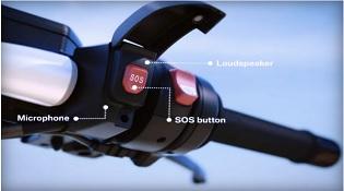 BMW giới thiệu hệ thống gọi SOS cho xe máy