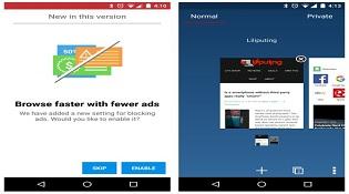 Trình duyệt Opera bổ sung thêm tính năng chặn quảng cáo