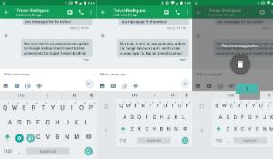 Google nâng cấp ứng dụng bàn phím Android cho phép gõ một tay