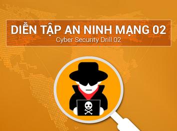 Thông báo về việc tổ chức Diễn tập An ninh mạng 02