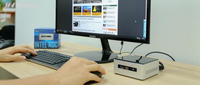 Đánh giá nhanh máy tính siêu nhỏ Intel NUC Skylake