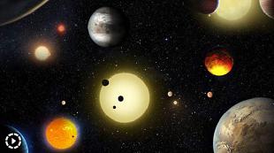 NASA phát hiện 9 hành tinh có sự sống