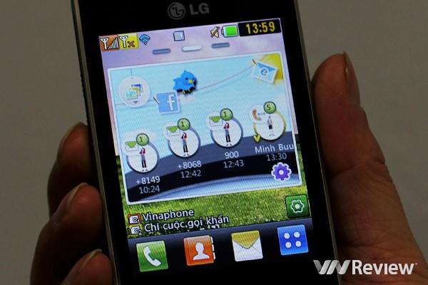 wechat no celular lg t375