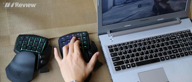 Đánh giá chi tiết keypad Razer Tartarus Chroma và Orbweaver Chroma