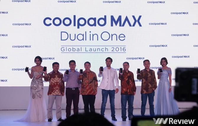 Coolpad MAX và MAX Lite chạy Dual Space giá từ 225 USD